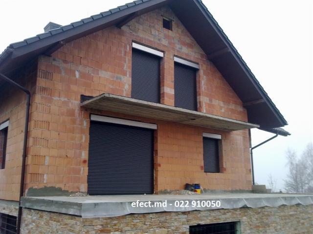 Рольставни на окна наружные в Подольске - Установка