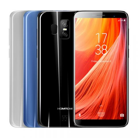 Homtom S7 Новый ! 4G, Dual SIM, Quad-Core, 5.5 дюймов HD, 3GB/32GB, 13+2MP Dual Camera, Android 7.0